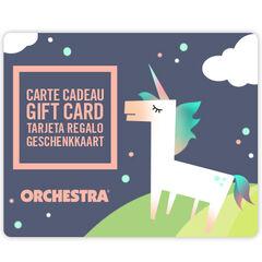 Προσφέρετε τη δωροκάρτα Orchestra bebeFille