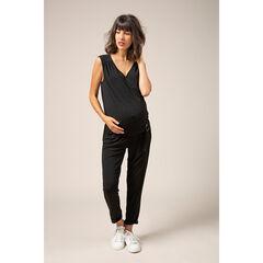 Μακριά ολόσωμη φόρμα εγκυμοσύνης με ρυθμιζόμενη ζώνη