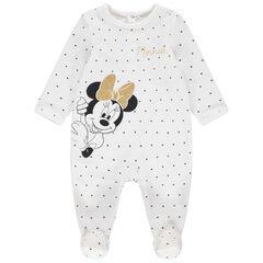 Βελουτέ φορμάκι ύπνου με πουά και στάμπα Μίνι της Disney