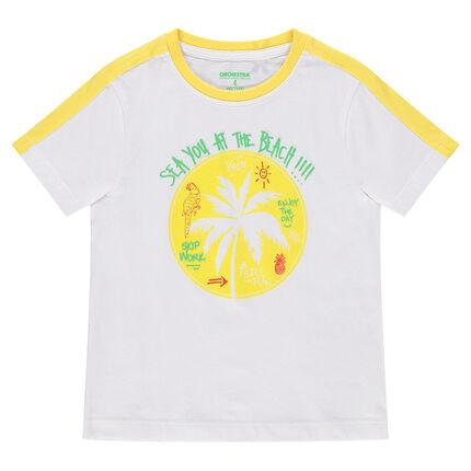 Κοντομάνικη μπλούζα με στάμπα φοίνικα