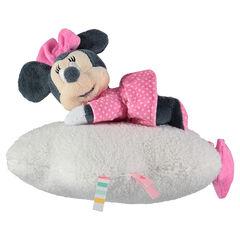 Μαλακό μουσικό παιχνιδάκι με τη Minnie της Disney από βελούδο και συνθετική γούνα sherpa