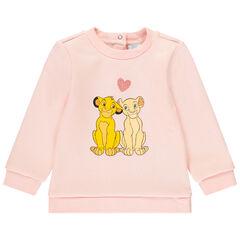 Φούτερ molleton ροζ σχέδιο Simba και Nala Disney , Orchestra