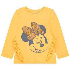 T-shirt μακρυμάνικο με οργανικό βαμβάκι σχέδιο Minnie Disney για bebe κορίτσι , Orchestra