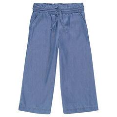 Παιδικά - Φαρδύ παντελόνι μέχρι το μέσο της γάμπας από tencel