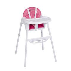 Μαξιλάρι  για καρέκλα φαγητού 2 σε 1 Capucine - ρόζ