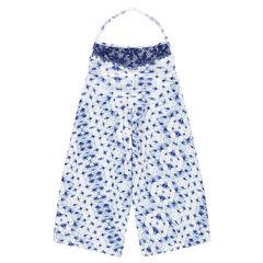 Παιδικά - Κοντή ολόσωμη φόρμα με φάσα από δαντέλα