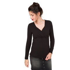 Μακρυμάνικη μπλούζα θηλασμού