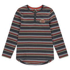 Παιδικά - Μακρυμάνικη μπλούζα σε αέρινη γραμμή