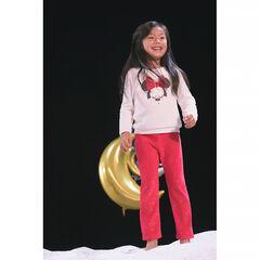 Βελουτέ σύνολο πιτζάμας με sherpa και σήμα Minnie της ©Disney