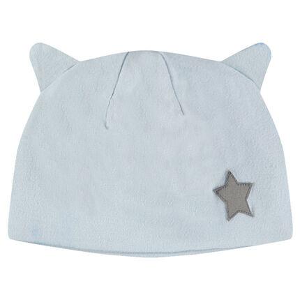 Ζέρσεϊ σκούφος με μικρό απλικέ αστέρι