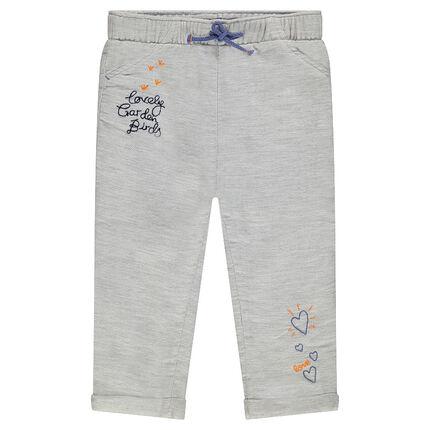 Παντελόνι σε βαμβακερή ύφανση