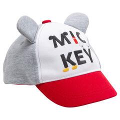 Καπέλο με ανάγλυφα αυτάκια Μίκυ της ©Disney και κεντημένα γράμματα