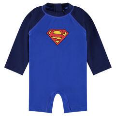 Ολόσωμο φορμάκι ©Marvel με κοντά μπατζάκια, λογότυπο Superman και αντηλιακή προστασία