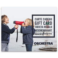 Προσφέρετε τη δωροκάρτα Orchestra duoGarcons