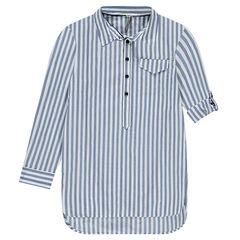 Παιδικά - Μακρυμάνικο πουκάμισο με κάθετες ρίγες