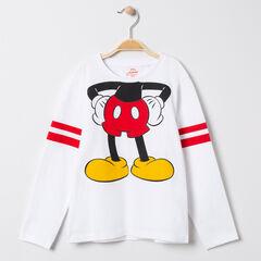T-shirt μακρυμάνικο με οργανικό βαμβάκι και σχέδιο Mickey Disney , Orchestra