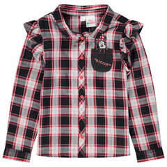 Μακρυμάνικο πουκάμισο με βολάν Minnie