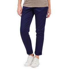 Pantalon de maternité en twill coupe chino