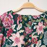 Μακρυμάνικο φλοράλ φόρεμα