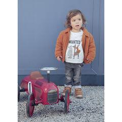 T-shirt μακρυμάνικο βαμβακερό σχέδιο ζωάκια για bebe αγόρι , Orchestra