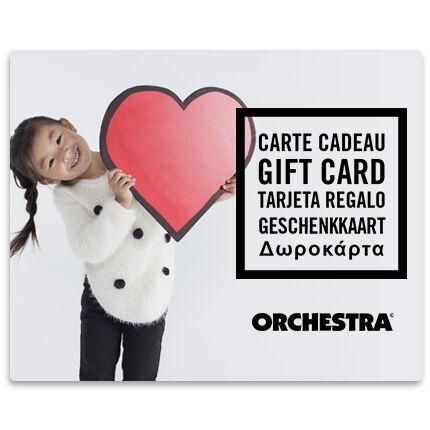 Προσφέρετε τη δωροκάρτα Orchestra fille
