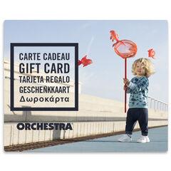 Προσφέρετε τη δωροκάρτα Orchestra bebeGarcon