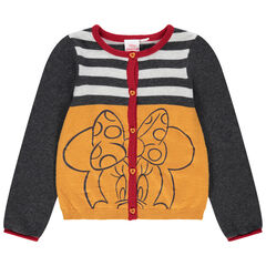 Gilet en tricot print Minnie Disney