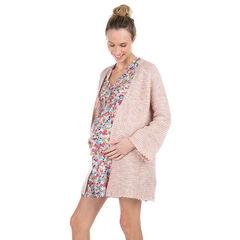 Ζακέτα εγκυμοσύνης σε χοντρή πλέξη , Prémaman