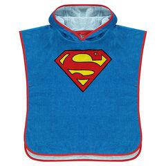Κάπα μπάνιου με κουκούλα DC Comics με λογότυπο Superman