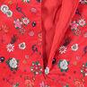 Παιδικά - Σατέν τουνίκ με μοτίβο με λουλούδια σε όλη την επιφάνεια