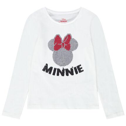 Μακρυμάνικη μπλούζα με τη Minnie από «μαγικές» πούλιες της Disney
