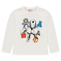 Μακρυμάνικη μπλούζα με τύπωμα Iron Man της Marvel