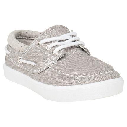 Χαμηλά παπούτσια υφασμάτινα σε ναυτικό στυλ σε νούμερο 28 έως 35