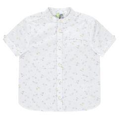 Κοντομάνικο πουκάμισο με εμπριμέ μοτίβο ποδήλατα