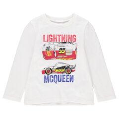 Μακρυμάνικη μπλούζα από ζέρσεϊ με τύπωμα Cars της Disney/Pixar®
