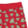 Pantalon en molleton JUSTICE LEAGUE - CHIBI imprimé logo all-over