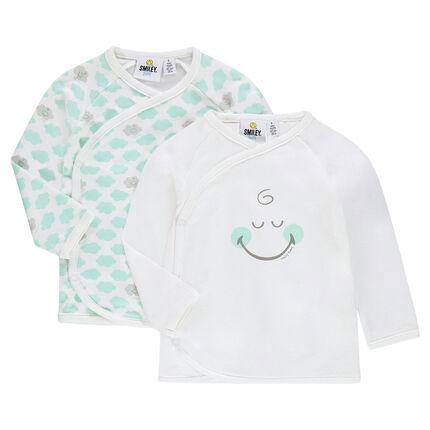 Σετ με 2 μπουστάκια ζέρσεϊ ©Smiley Baby