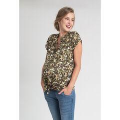 Μπλούζα εγκυμοσύνης με κοντά μανίκια