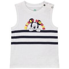 Μπλούζα από οργανικό βαμβάκι με ρίγες και εκτύπωση Mickey Disney , Orchestra