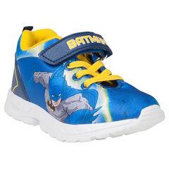 Αθλητικά παπούτσια με ελαστικά κορδόνια και velcro ΒΑΤΜΑΝ