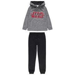Παιδικά - Φόρμα με φούτερ με κουκούλα Star Wars