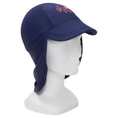 Καπέλο με αντηλιακή προστασία SPF 50+ και κάλυμμα αυχένα