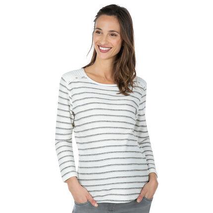Μαρινιέρα εγκυμοσύνης με φαντεζί ώμους