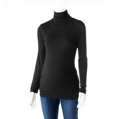 Tee-shirt manches longues de grossesse à col roulé