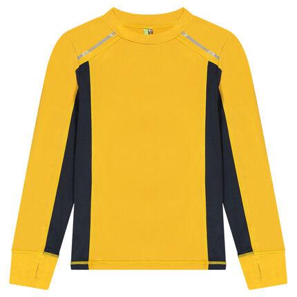 Παιδικά - Μακρυμάνικη μπλούζα με ρεγκλάν μανίκια, ειδικά για σπορ