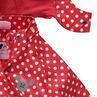 Αντιανεμικό αδιάβροχο μπουφάν με πουά και τη Μίνι της Disney