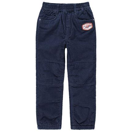 Παντελόνι με φλις επένδυση και μπάλωμα