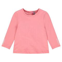 Μακρυμάνικη μπλούζα με τύπωμα ίνκα