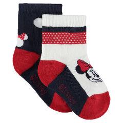 Σετ με 2 ζευγάρια κάλτσες με τη Μίνι της Disney