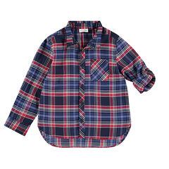 Μακρυμάνικο καρό πουκάμισο σε ύφανση με διακοσμητικό σχέδιο